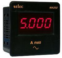 Đồng hồ đo dòng điện mặt vuông loại nhỏ