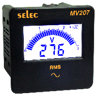 Đồng hồ đo điện áp xoay chiều một pha...